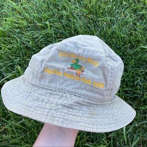 The mucky duck khaki bucket hat